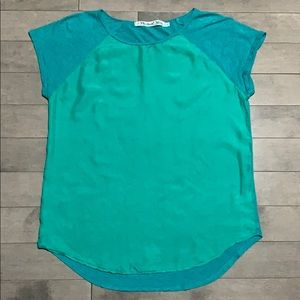 Michael Stars Silk Front Tee - One Size